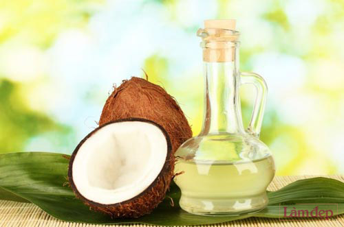cải thiện làn da bằng dầu dừa