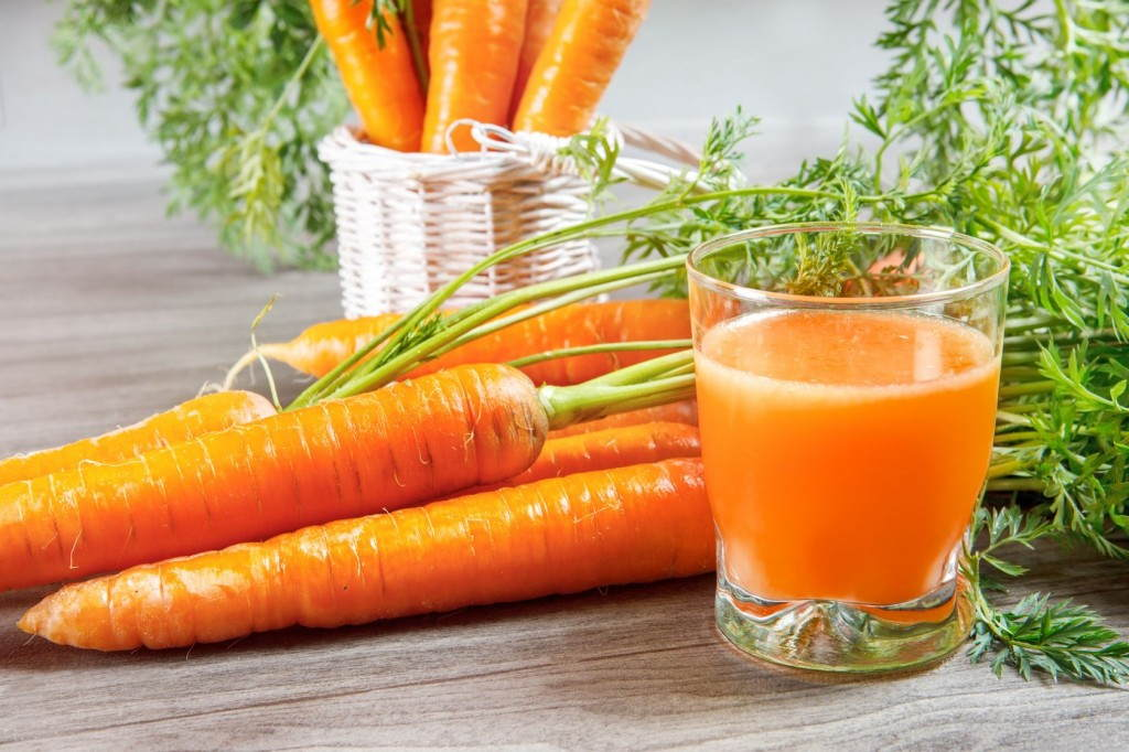 làm đẹp từ cà rốt